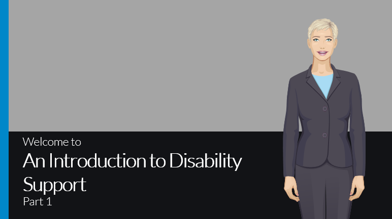 Introduction to disability support part 1 course preview