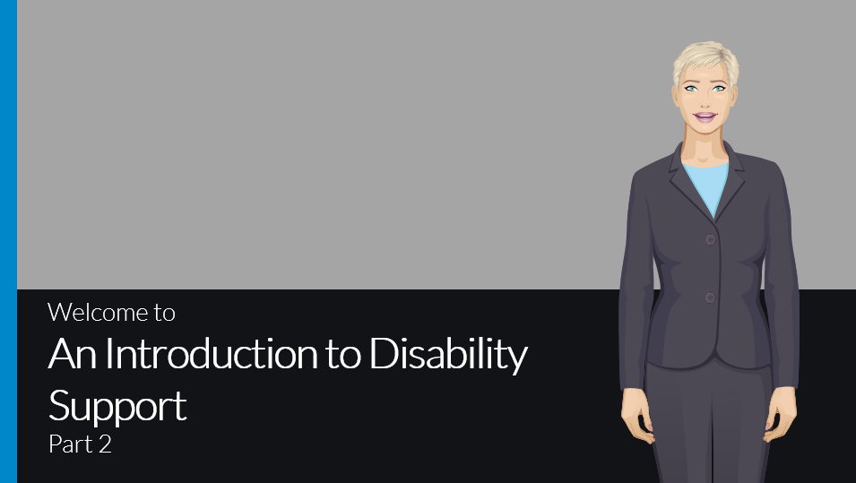 Introduction to disability support part 2 course preview
