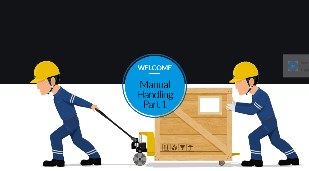 Manual handling part 1 course preview