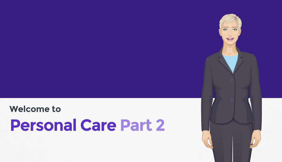 Personal care part 2 course preview
