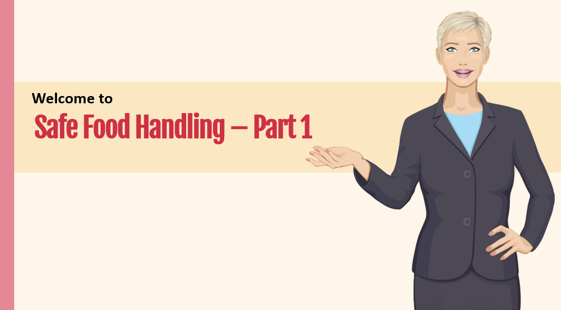 Safe food handling part 1 course preview